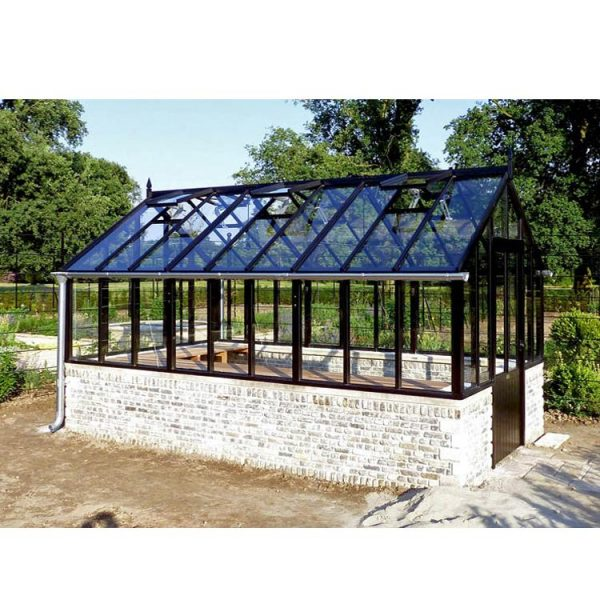 WDMA Diy Prefabricated Glass Conservatory Patio Enclosure