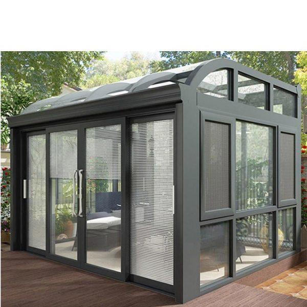 WDMA Double Glazed Aluminum Winter Garden Portable Sunroom