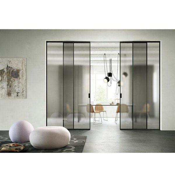 WDMA Elegant Exterior Aluminium Sliding Doors And Window Design Slim Frame Within Large Glass Sliding Doors Designs Home