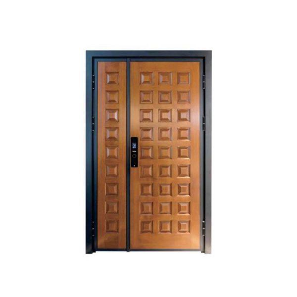 WDMA aluminium panel door Aluminum Casting Door