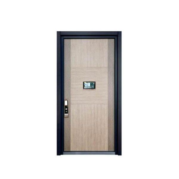China WDMA aluminium panel door Aluminum Casting Door
