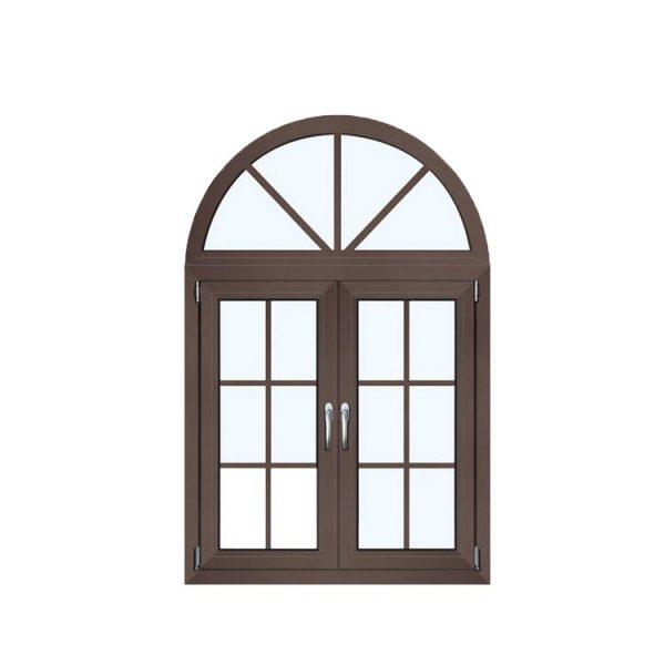 WDMA Eu Market Passive House Use High Energy Saving Arched Casement Window On Sales