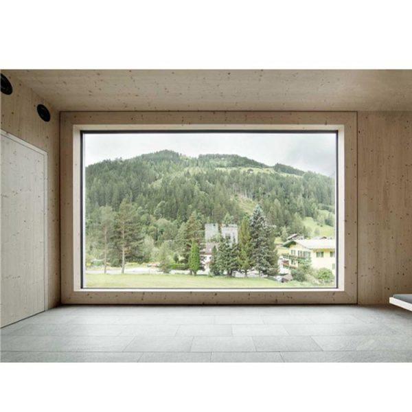 WDMA European Style Building Outdoor Oval Window Shutter Price Aluminium Fixed Window Nigeria
