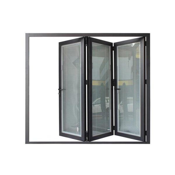 China WDMA exterior folding patio door
