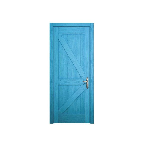 China WDMA Exterior Mahogany Hollow Core Flat Glass Insert Solid Wood Main Entranc Front Door For Home