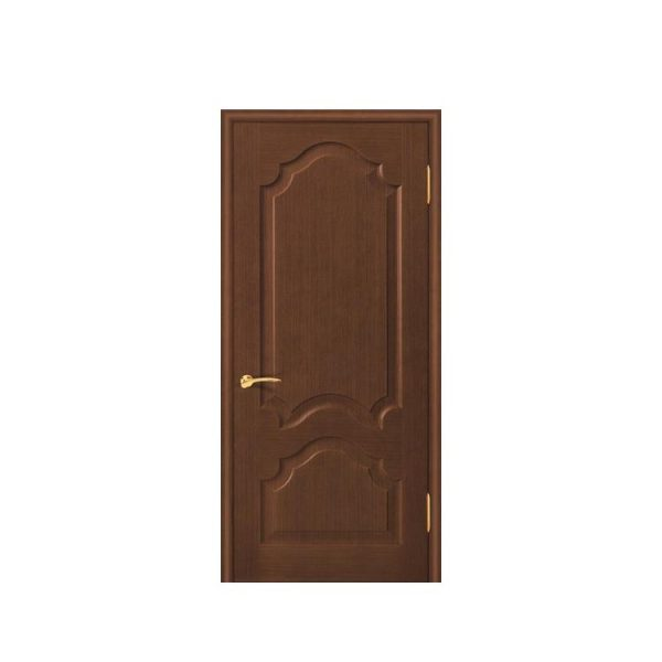 China WDMA Exterior Paint Double Solid Nyatoh Merpauh Finger Joint Wood Framed Front Pocket Fire Resistant Door With Beveled Glass For Home