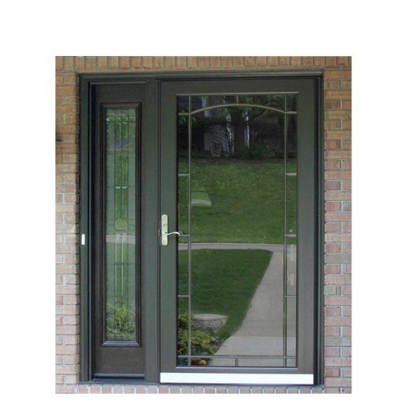 China WDMA Double Leaf Aluminium Door