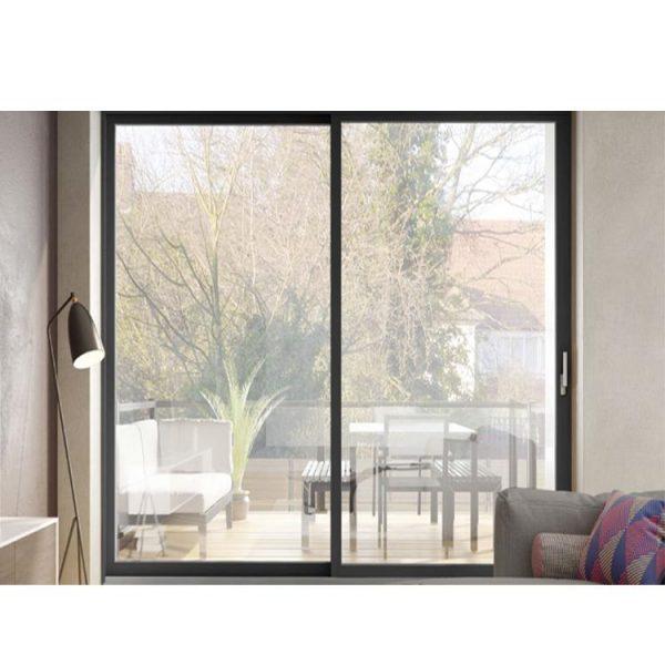 WDMA slim frame aluminium sliding door