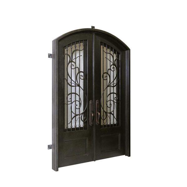 WDMA Exterior Wrought Iron Entry Door Front Door Design