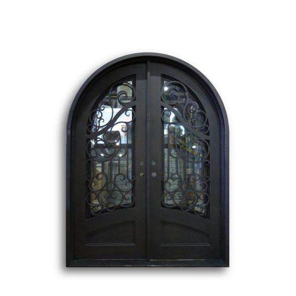 WDMA wrought iron door Steel Door Wrought Iron Door
