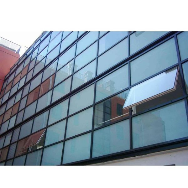 WDMA exposed frame glass curtain wall