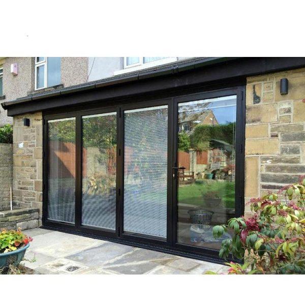 WDMA Horizontal Blinds Sliding Glass Doors