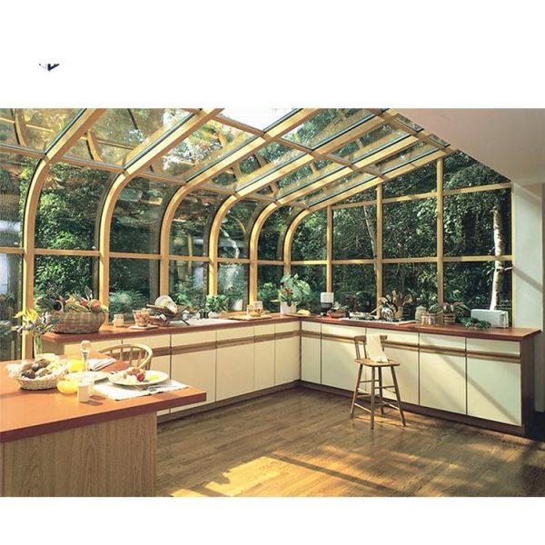 China WDMA glass house kits Aluminum Sunroom