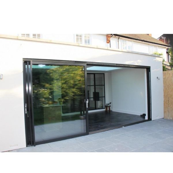 China WDMA Factory Price Sliding French Door Price And Design For Exterior