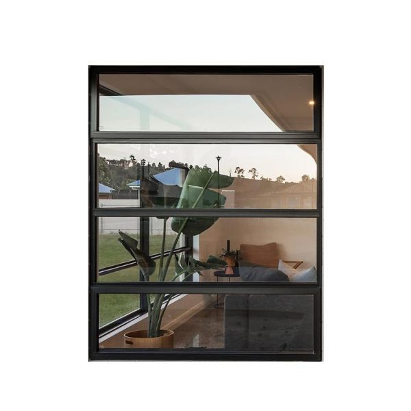 WDMA Floor To Ceiling Aluminum Awning Window Triple Double Glass Windows Price