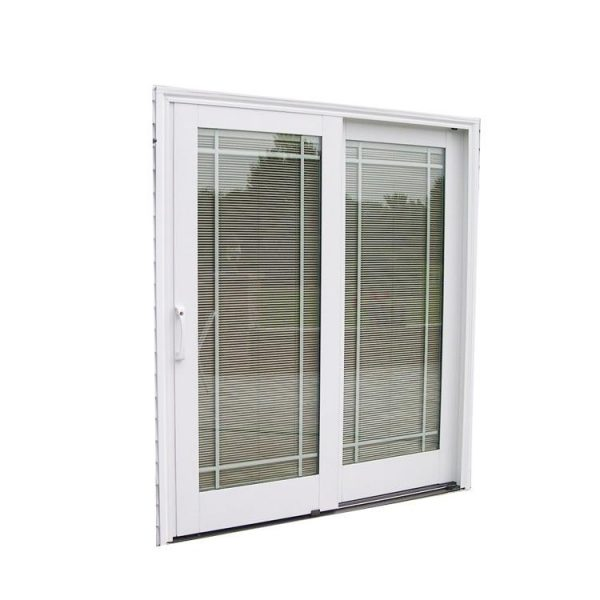 China WDMA Florida Approval Wind Pressure Resistance Sliding Door With Grill