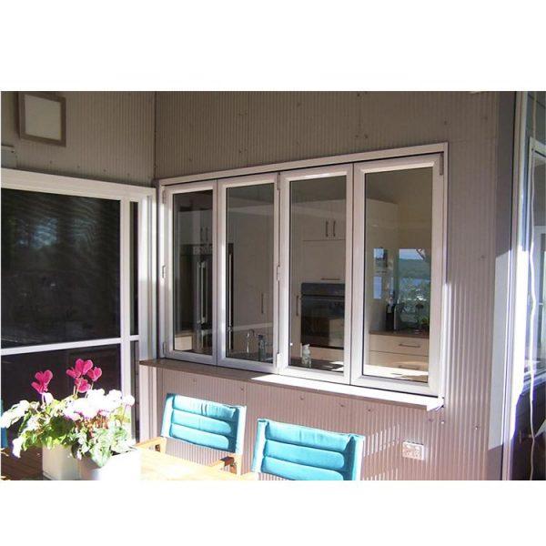 WDMA folding aluminum window