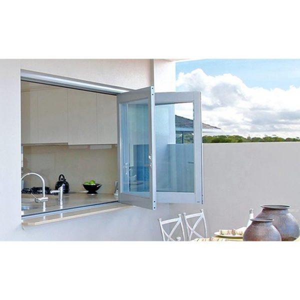 China WDMA Folding Aluminum Window Corner Door Aluminum American Style