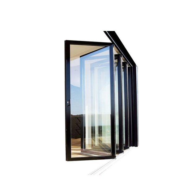 China WDMA Aluminium Glass Door Design