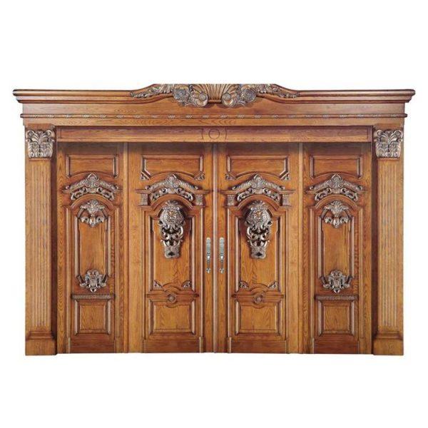WDMA french doors exterior Wooden doors