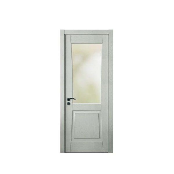 China WDMA Front Simple Teak Wood Door Models Designs