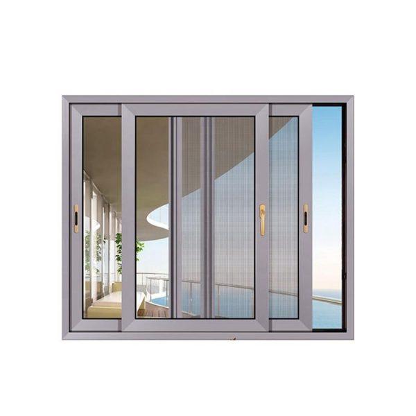 China WDMA brown glass window