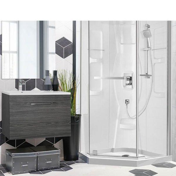 WDMA Glass Shower Cabin Shower Door Shower Enclosure