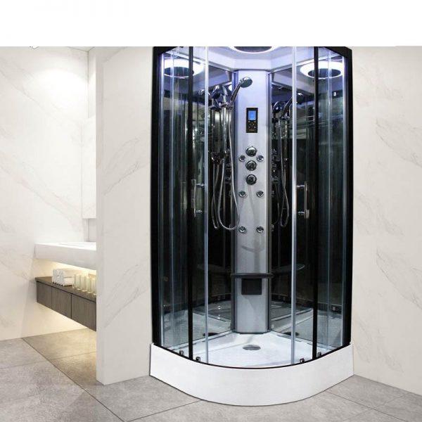 China WDMA Glass Sliding Door shower Room Glass Sliding Door stainless Steel Sliding Door