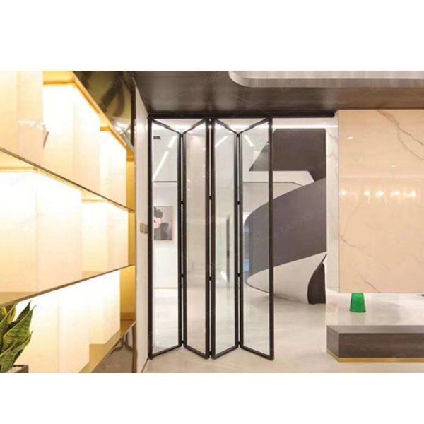 WDMA Good Quality Bifold Patio Aluminium Door Custom Interior Kitchen Folding Doors French Door