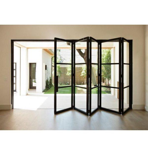 WDMA Grey Aluminium Bifold Doors