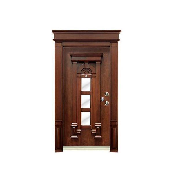 China WDMA single wooden door design Wooden doors