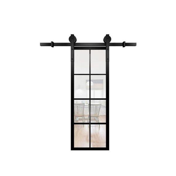 WDMA Glass Interior Pocket Door