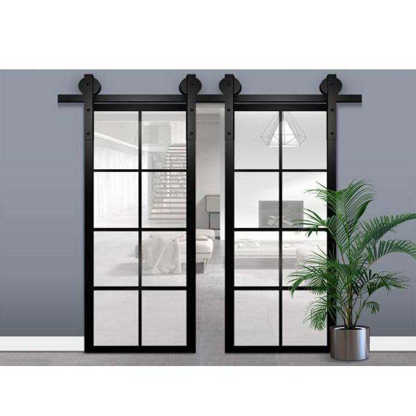 China WDMA Glass Interior Pocket Door