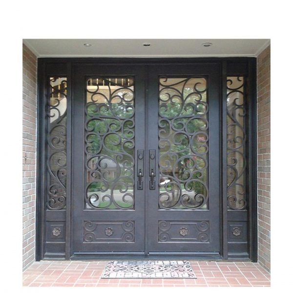 WDMA Wrought Iron Front Entry Door