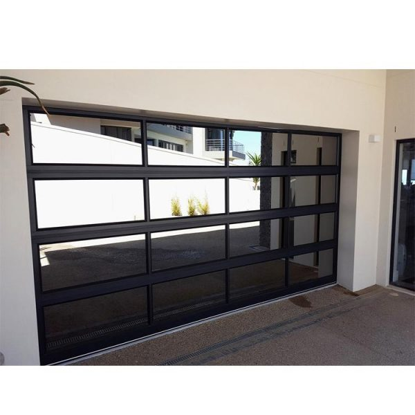 China WDMA stainless steel garage door