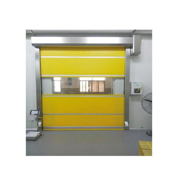 China WDMA Industrial High Speed Remote Control Rolling Shutter Pvc Door