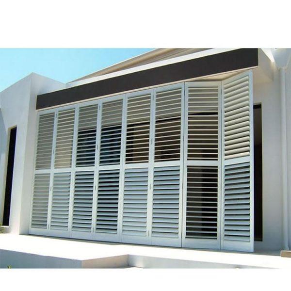 China WDMA naco window Aluminum louver Window