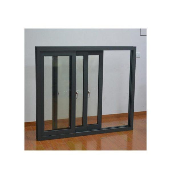China WDMA Insulated Glass Large Laminated Glass Window Aluminium Fixed Panoramic Window