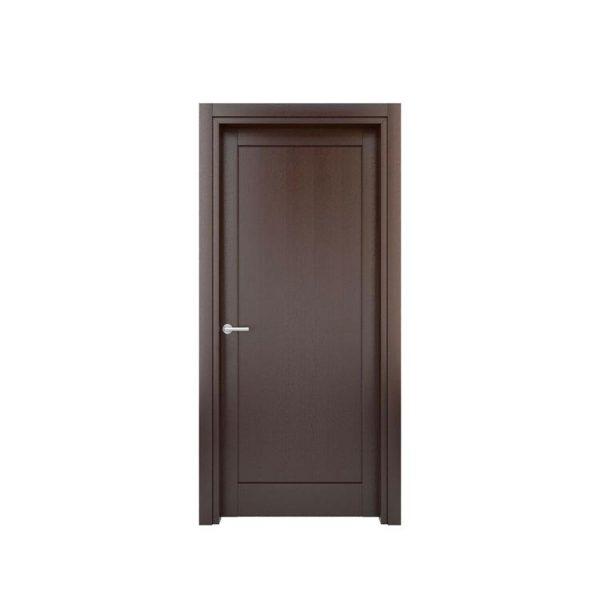 WDMA Insulated Swing Door Wooden Flush Doors Design