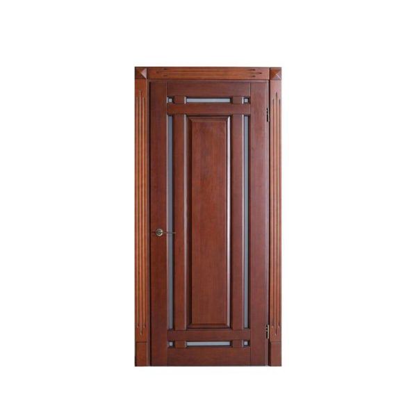 China WDMA Insulated Swing Door Wooden Flush Doors Design