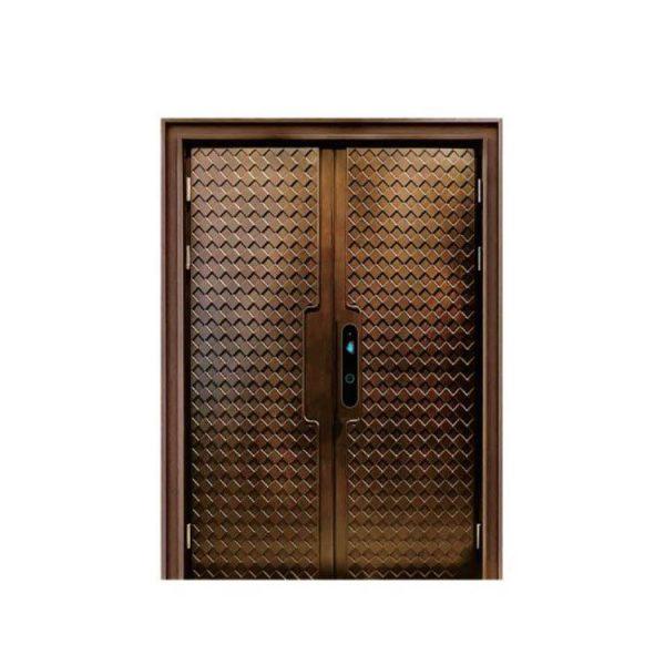 WDMA Interior Aluminium Comfort Living Room Partition Flush Door Design For Interior