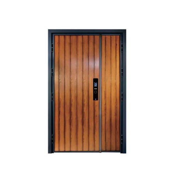 WDMA aluminium door for interior Aluminum Casting Door