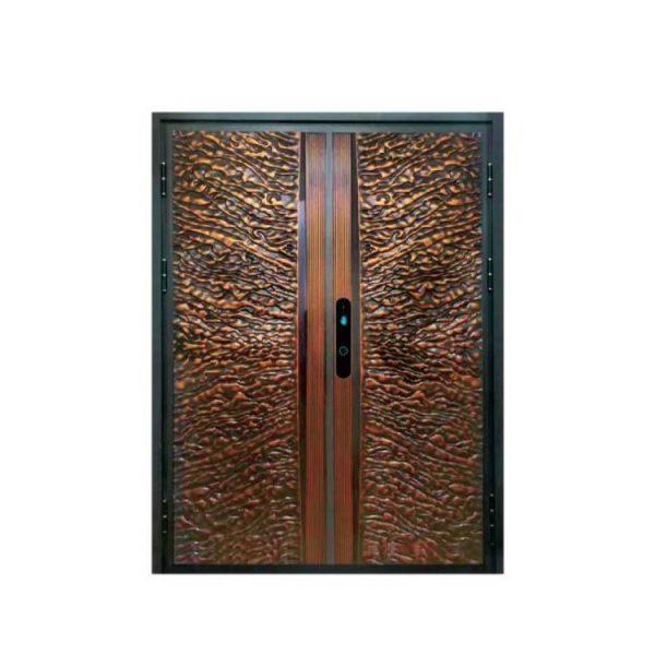 China WDMA Interior Aluminium Comfort Living Room Partition Flush Door Design For Interior