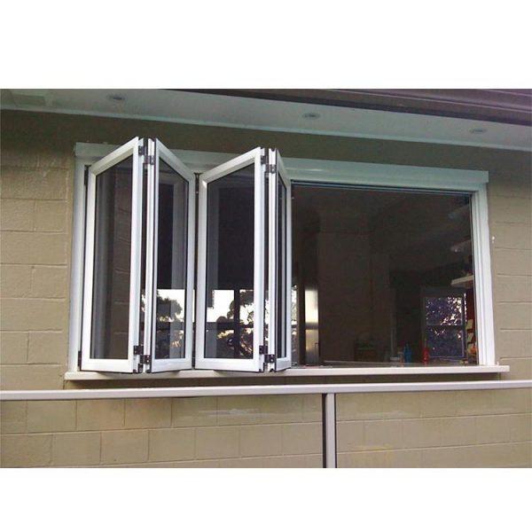 WDMA folding glass window