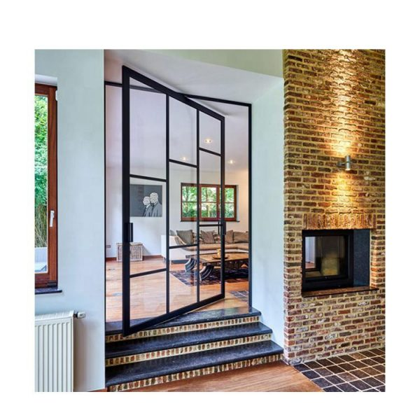 WDMA exterior pivot door Aluminum Pivot Doors