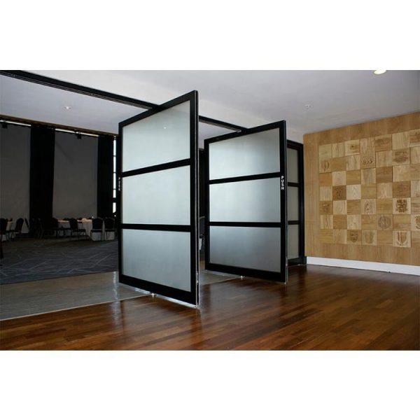 China WDMA exterior pivot door Aluminum Pivot Doors