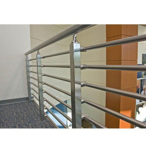 China WDMA Interior Paint Iron Pipe Staircase Stair Railing Handrail Baluster Design