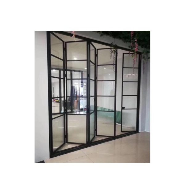 WDMA Latest Designs Inteerior Sliding Folding Door Philippines Price For Toilet Use