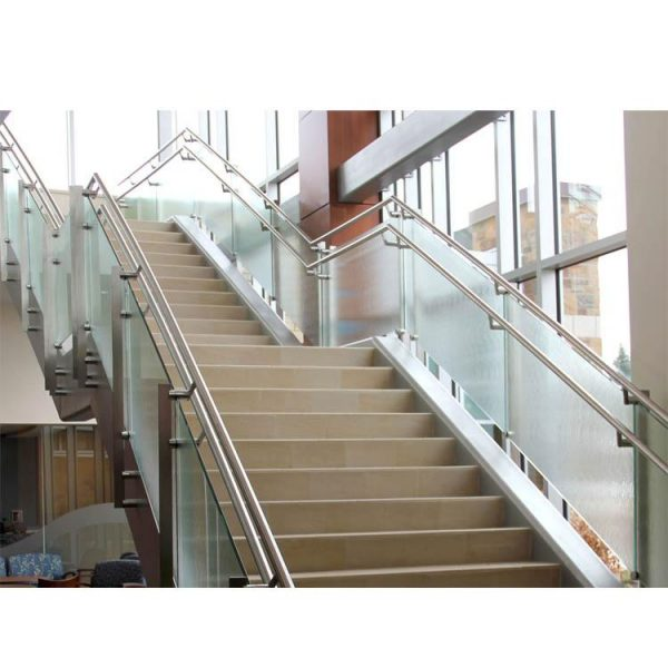 WDMA staircase railing stainless steel