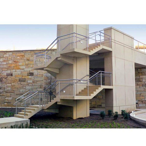 China WDMA staircase railing stainless steel